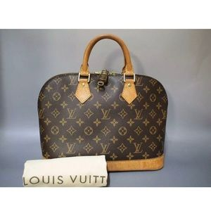 LOUIS VUITTON Alma PM Mono